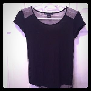 Armani Exchange Sheer back Shirt